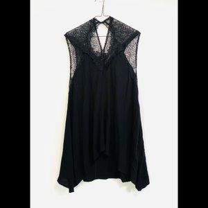 Torrid Black Dress Lace Top Size 3